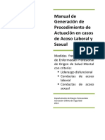 3. Procedimiento Acoso Laboral y Sexual