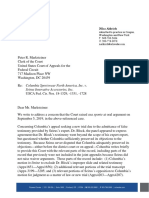 Columbia Letter (Sept. 2019)