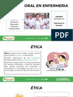 Etica y Moral en Enfermeria