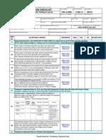 SAIC-A-2008 - Verify Test Medium for Hydrostatic Testing & Lay-up