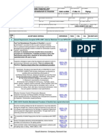 SAIC-A-2006 - Review Procedure - Post Test Reinstatement & Checklist