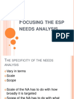 Esp Analysis