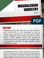 Magdalenian Industry