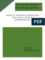 Diversidad y Desigualdad Educativa