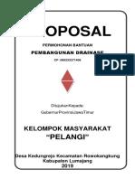 Proposal Drainase Aris