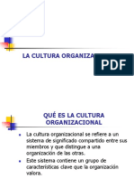 1. Cultura Organizacional