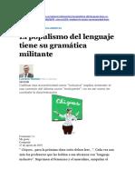 Notas Sexismo Lingüístico