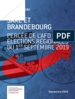 Saxe et Brandebourg. Percée électorale de l'AfD lors des élections régionales du 1er septembre 2019 - Patrick Moreau, septembre 2019