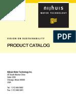 Nijhuis Product Sheets Catalog 1 (1)