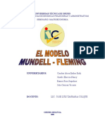 Modelo de Mundell Fleming