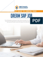 The Ultimate Guide to Landing Your Dream Sap Job