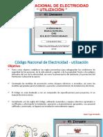 codigo nacional de electricidad