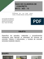 REFRENTADO DE CILINDROS
