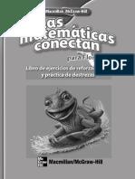 Las matemáticas conectan 5. Libro de ejercicios de reforzamiento y práctica de destrezas.pdf