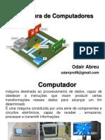 Apresentação Do Plano de Aprendizagem e Aula 03 Arquitetura de Computadores 30-08-2019
