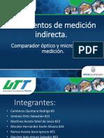 Instrumentos de medicion indirecta