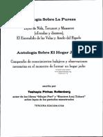 Antologia Sobre La Pureza Familiar.