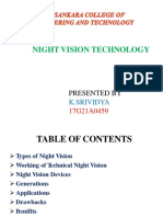 Night Vision Techonology Ppt
