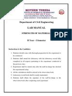 SM Lab Manual