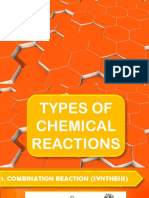 Types of Reaction Ppt