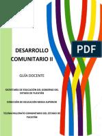Sd Desarrollo Comunitario II