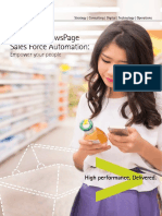Accenture NewsPage Sales Force Automation SFA Brochure