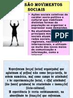 Movimentos Sociais - slides