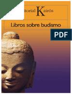Libros Sobre Budismo. Naranja - Ed.kairós
