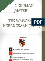 [Ppt] Bahan Materi Tes Wawasan Kebangsaan (Twk) - Revisi II-1