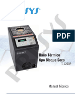 Manual Presys t1200p