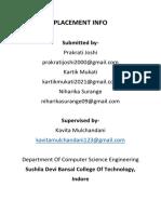 Sushila Devi Bansal College Of Technology SYNOPSIS.docx