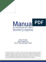 Manual de osteología de cráneo bovino y equino.pdf