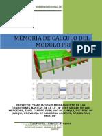 CALCULO ESTRUCTURAL - MODULOS