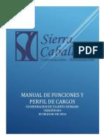 Manual de Funciones Sierra Caballero s.a.s.