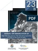 Manual on Demarcation of High Tide Line and Low Tide Line & Preparation of CZMP