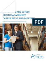 Operations and Supply Chain Management Career Paths and Patterns