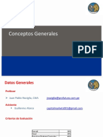 Clase 1 - Conceptos Generales