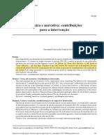 Araújo et al. (2015) Carreira e narrativa - contribuições para a intervenção