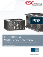 Siemens Ruggedcom RX1500 Product Brochure