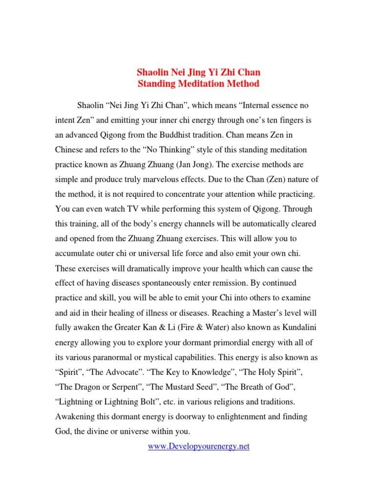 Standing Zen Qigong | Qigong | Respiratory System
