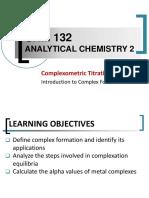 Complexometric Titration