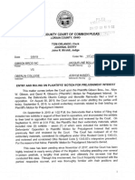 Gibson's Bakery v. Oberlin College - Order Denying Motion for Prejudgment Interest