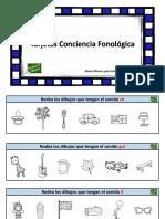 Conciencia Fonologica Rodea El Sonido