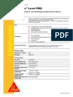 Sikafloor Level Pro sds