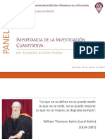 Importancia.investigacion.cuantitativa.ebf