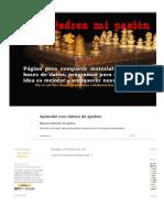 Ajedrez Mi Pasión _ Colección Aperturas Primera Parte _1