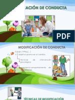 Te_cnicas de Modificacio_n de Conducta