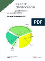 Przeworski_ Introducción, en Qué esperar de la democracia