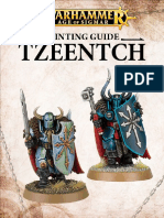 Painting Guide - Tzeentch