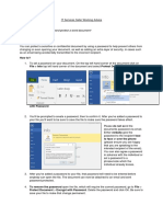 Password Protecting a Word Document- 10.09.19